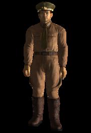 General Olivers uniform