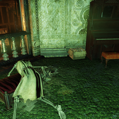Skeleton in the Palace of the Winding Path