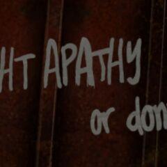 Борися з апатією чи ні...