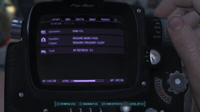 Survival mode PipBoy