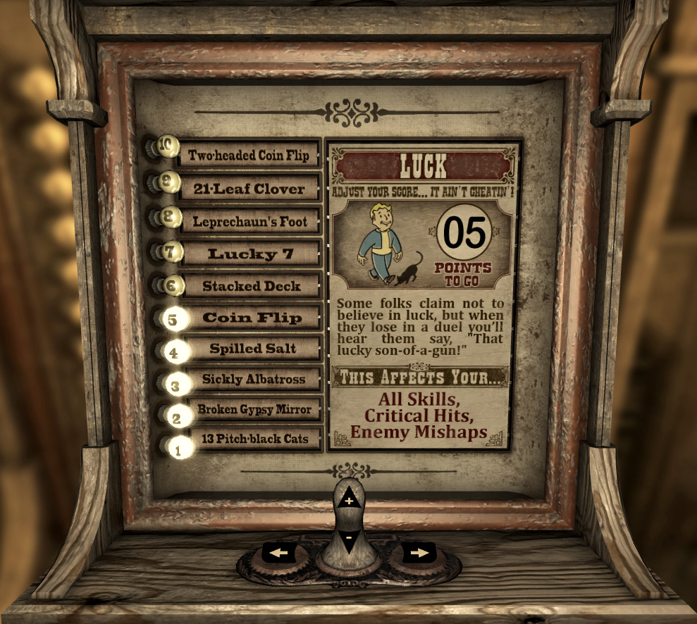 Vitomatic Luck screen