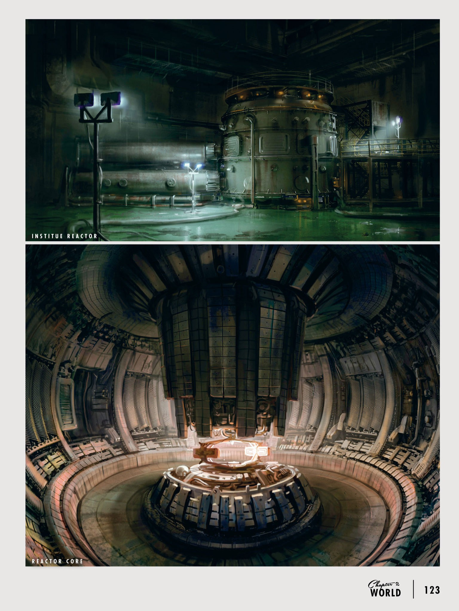 Art of FO4 Institute Reactor