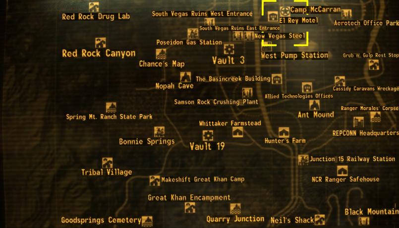 Fallout New Vegas Karte Mit Allen Orten Deutsch.Camp Mccarran Fallout Wiki Fandom Powered By Wikia