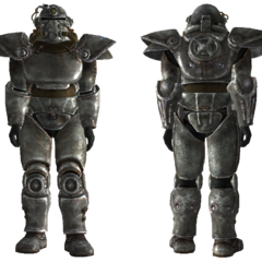 Brotherhood T-51b power armor