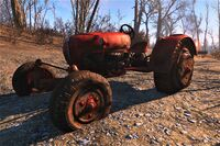 FO4 Vehicles tractor 1