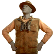 FO76ATX Cryptid Enthusiast Suit set