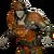 FO76NW Pumpkin Combat Armor