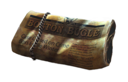 Fo4 delivered Boston Bugle