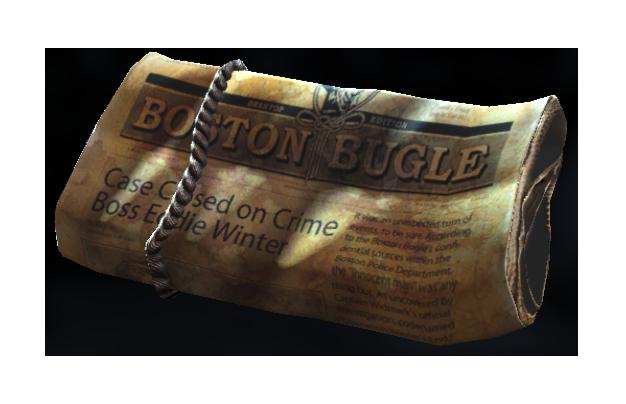 Fo4 delivered Boston Bugle