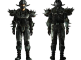 Gecko-backed metal armor, reinforced