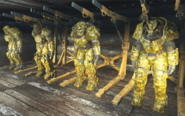 Swamp camouflage paint power armor overview