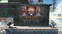 Beaver Creek Lanes Sign