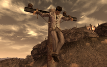 Benny crucified