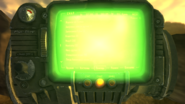 FNV Bug Pip-Boy 3000 backlight
