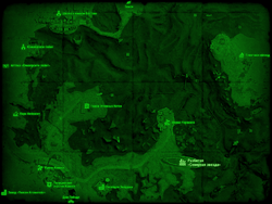 FO4 Разбитая «Северная звезда» (карта мира)