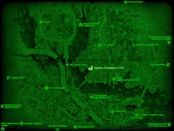 FO4 Турбина «Посейдона» 18-F (карта мира)
