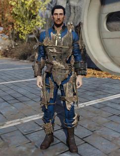 FO76 Wood Armor