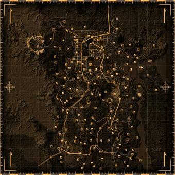 Fallout New Vegas Locations Fallout Wiki Fandom
