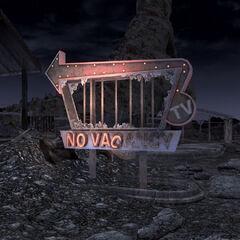 Табличка «No vacancy» вночі