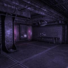 Галюцинації в кімнаті з терміналом