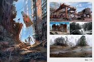 Art of Fo4 Streets of Boston concept art