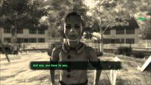 Egy gyilkos kislány a Vault 112 Virtuális Valóságából