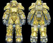 FO4CC T-45 power armor swamp camo