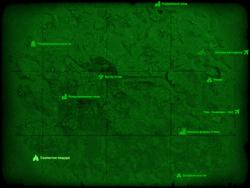 FO4 Скалистая пещера (карта мира)
