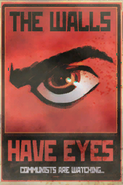 FO4 Poster The walls have eyes