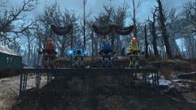 FO4 Robotics Pioneer Park parade