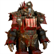 FO76 Atomic Shop - Blood raider power armor skin