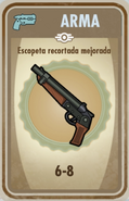 FOS Escopeta recortada mejorada carta