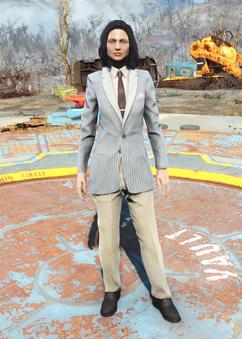 Fo4Clean Striped Suit