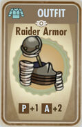 FoS Raider Armor Card