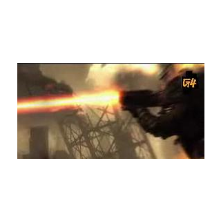 The Tri-Beam Laser as seen in V.A.T.S. (From G4 gameplay video).