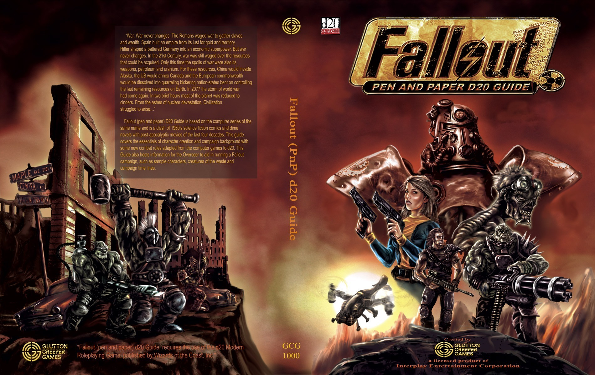 Fallout Pen and Paper d20 | Fallout Wiki | FANDOM powered by Wikia