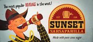 FNV Sunset Sarsaparilla banner