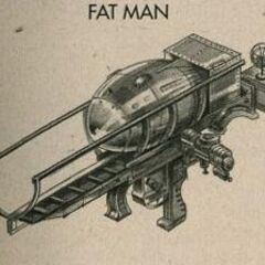 <i>Fallout 3</i> Fat Man concept art.