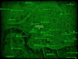 FO4 Академический центр Кембриджа (карта мира)