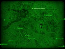 FO4 Кладбище старых роботов (карта мира)