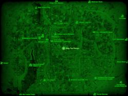 FO4 Мед-Тек Рисерч (карта мира)