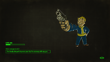 FO4 Steady Aim Loading Screen