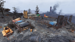 FO76 Hornwright testing site 3