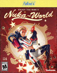 Fallout 4 Nuka-World add-on packaging
