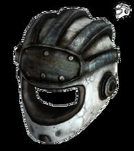 Metal helmet