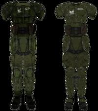 Боевая броня рейнджеров Рейли (фронт)