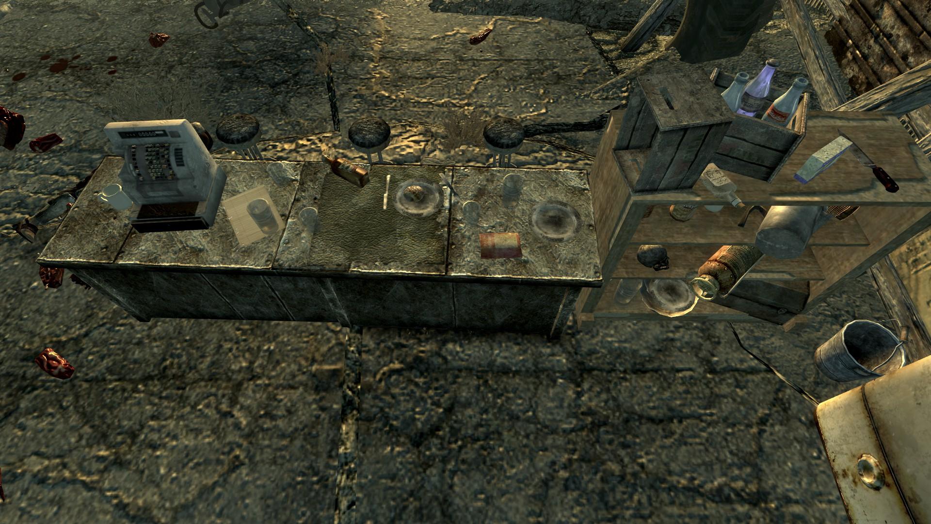 FO3 PI Flooded Metro Raider Camp