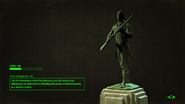 FO4 Sanctuary Hills Statue loading screen