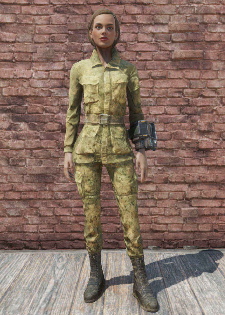 Military fatigues (Fallout 76) | Fallout Wiki | FANDOM powered by Wikia