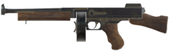 FO76 Submachine gun